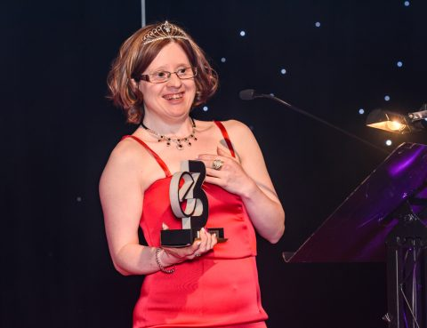 Jen Blackwell at E3 Awards