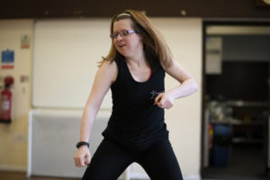 Jen Blackwell of Dance Syndrome, photographed in Preston Photographer Gray Hughes