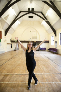 Jen Blackwell in Plungington Community Centre