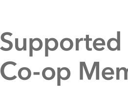 Supported by Co-op