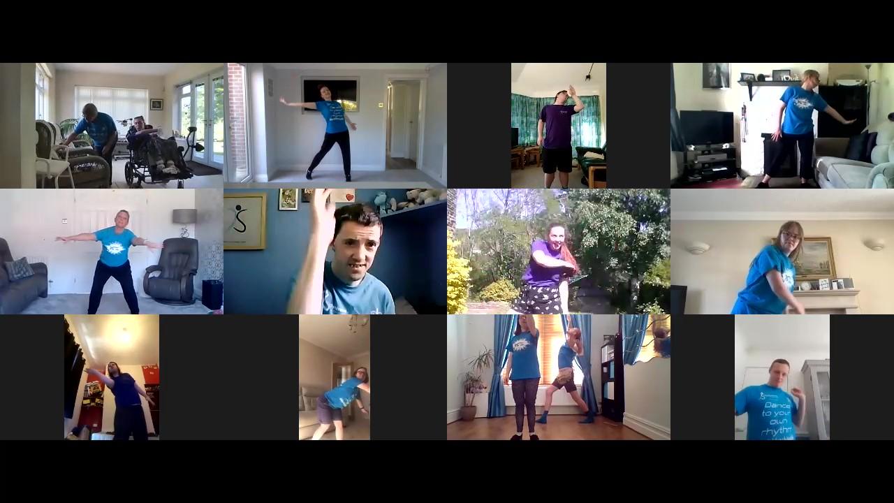 Online Dance Update
