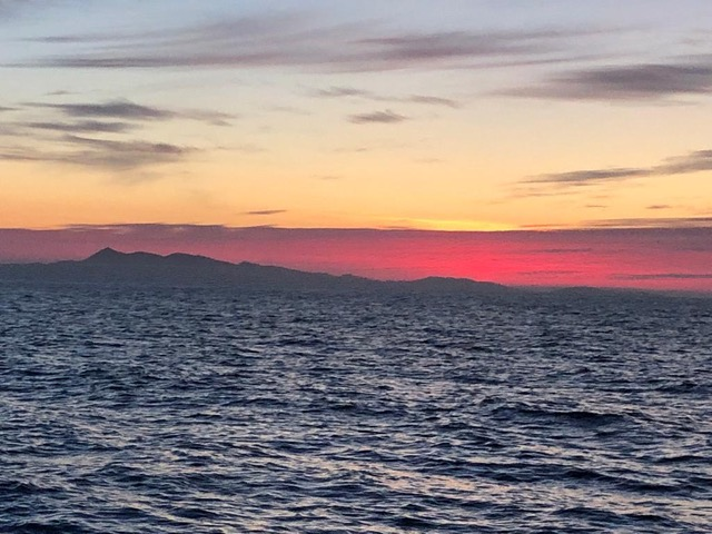 Sun setting over Outer Hebrides