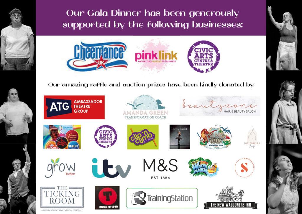 Gala dinner sponsors